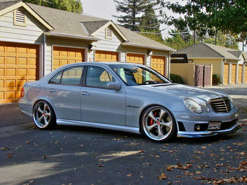 Work VS-KF on Mercedes Benz E55 AMG