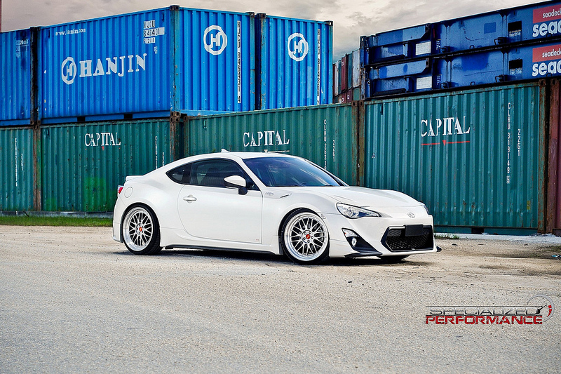 BBS LM on TRD Scion FR-S