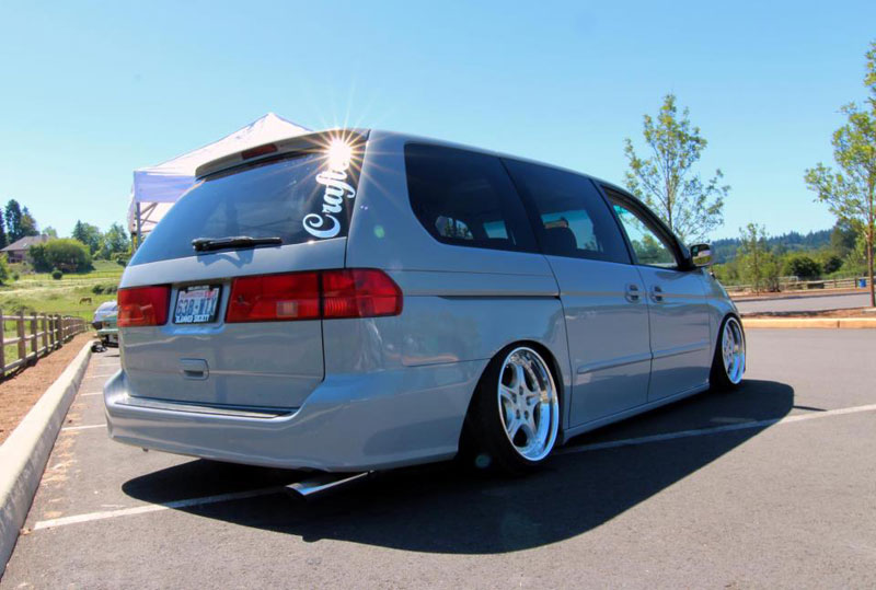 DP Motorsport Cups on Bagged Honda Odyssey
