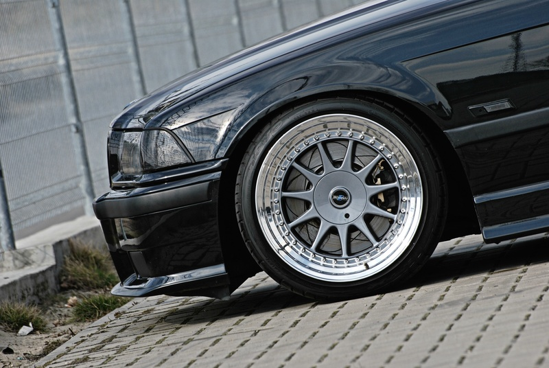 Hartge Design C on Slammed BMW E36 320i