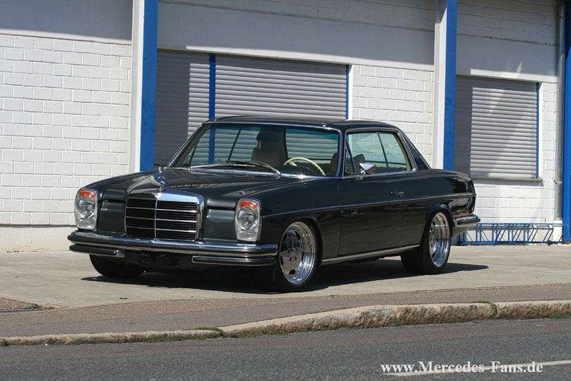 Mercedes Benz W114 280C Coupe on AMG Aero I Wheels