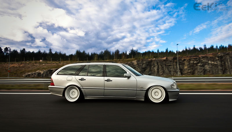 Mercedes Benz W202 Wagon on Carlsson 3/6