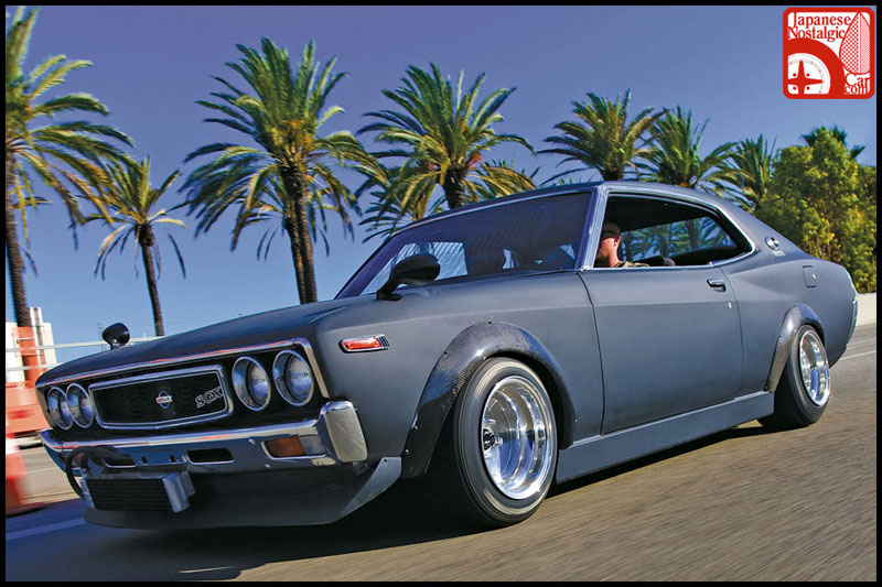 SSR MKI on Old School JDM Nissan Laurel 2000SGX