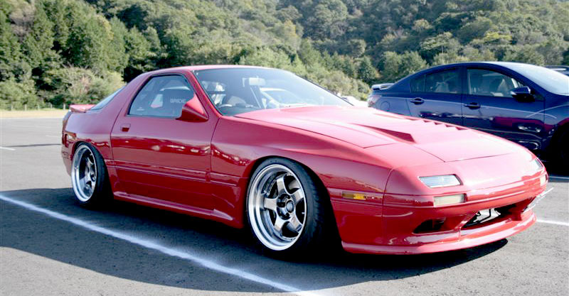 SSR Professor SP1 on FC Mazda RX7