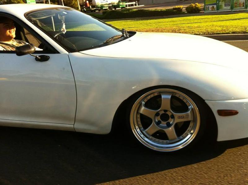 SSR Professor SP1 on Slammed MK4 Toyota Supra