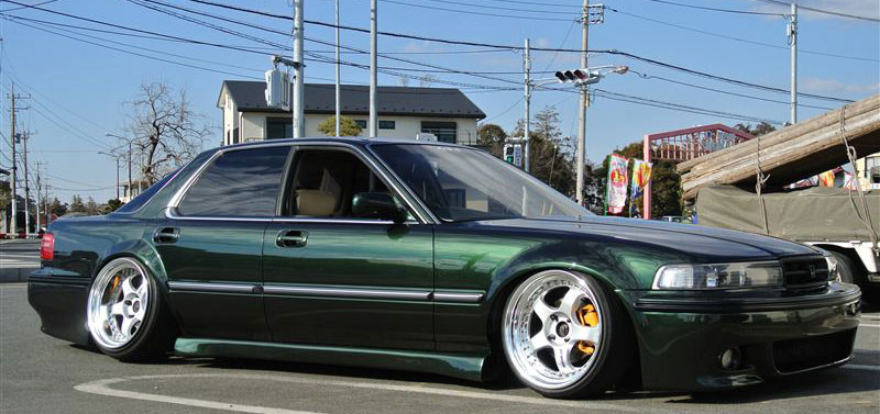 Work Meister S1 3 Piece on JDM Honda Inspire
