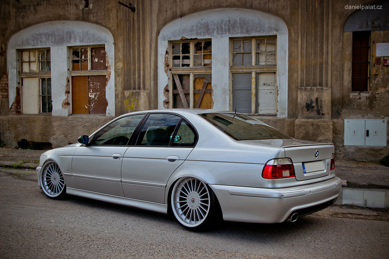 Alpina Softline on Slammed E39 BMW 530d