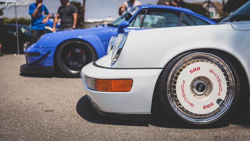 BBS RS Turbofans on 964 Porsche 911