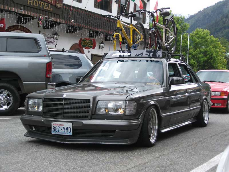 mercedes benz w126 500se on amg aero i 3 piece wheels. Black Bedroom Furniture Sets. Home Design Ideas