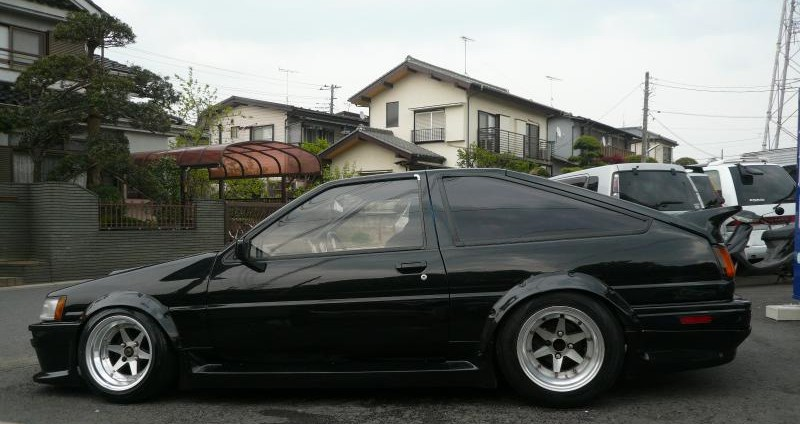 SSR Longchamp XR4 on AE86 Toyota Corolla Levin GT-APEX