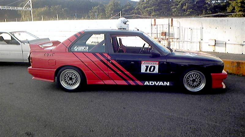 Volk Racing TE37 on BMW E30 M3
