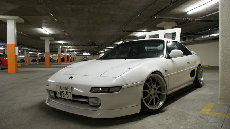 Blitz 01 CX on SW20 Toyota MR2