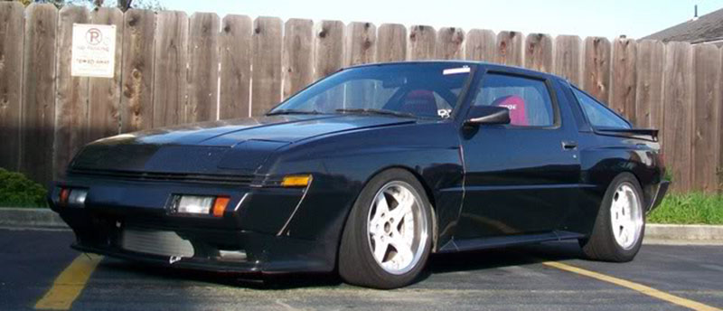 CST Precedeo Demon Camber on Mitsubishi Starion