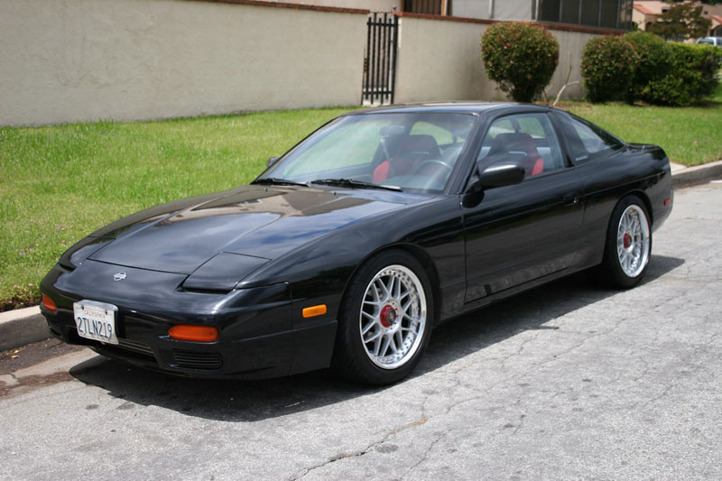 Racing Hart Type-C on Nissan 240sx s13