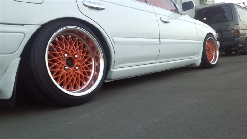SSR Reverse Mesh on JDM Nissan Laurel