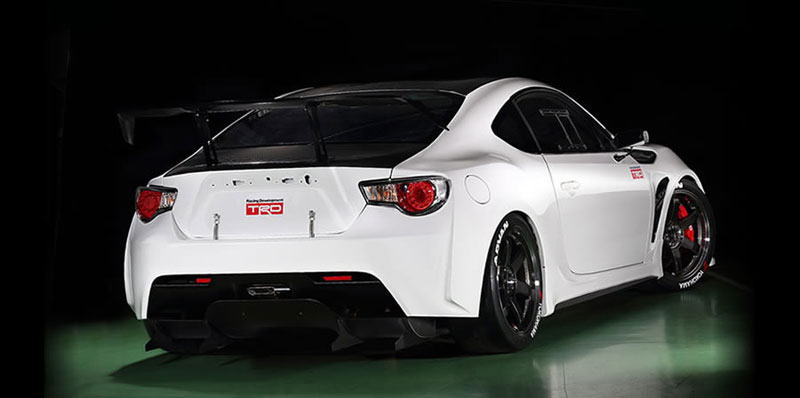 Volk Racing TE37SL on Toyota GT 86 Scion FR-S Griffon Concept