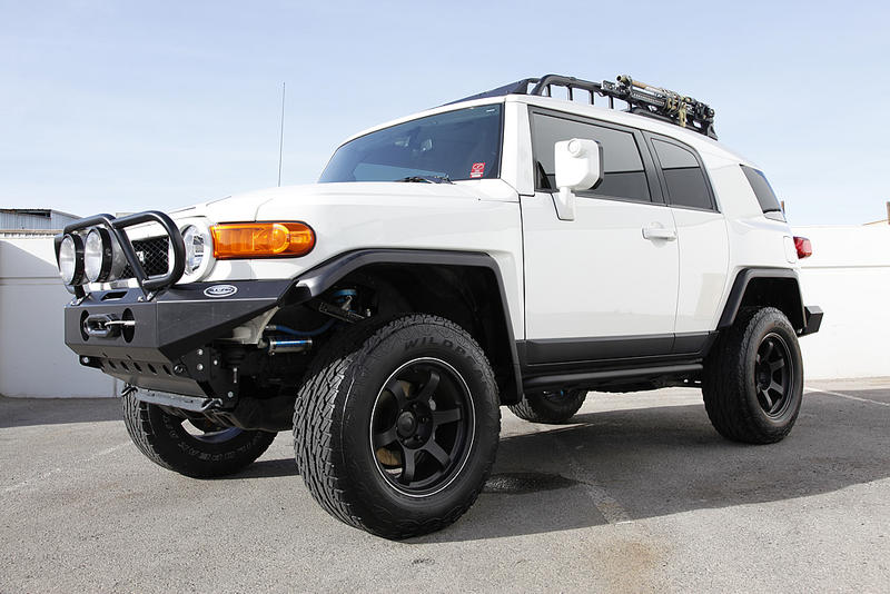JDM Volk Racing TE37x on Toyota FJ Cruiser