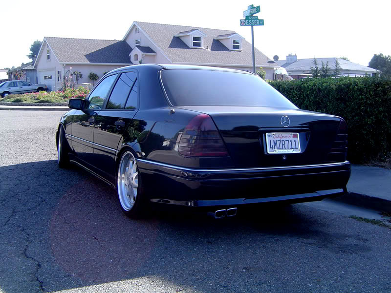 mercedes benz c36 w202 on brabus monoblock iii. Black Bedroom Furniture Sets. Home Design Ideas