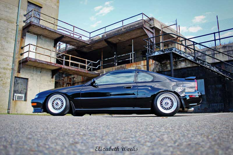 BBS RS on Clean BB4 Honda Prelude