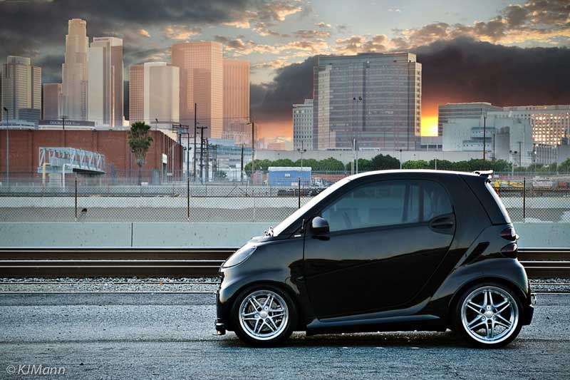 Smart car jdmeuro jdm wheels and trends archive brabus monoblock vii on brabus smart fortwo altavistaventures Choice Image