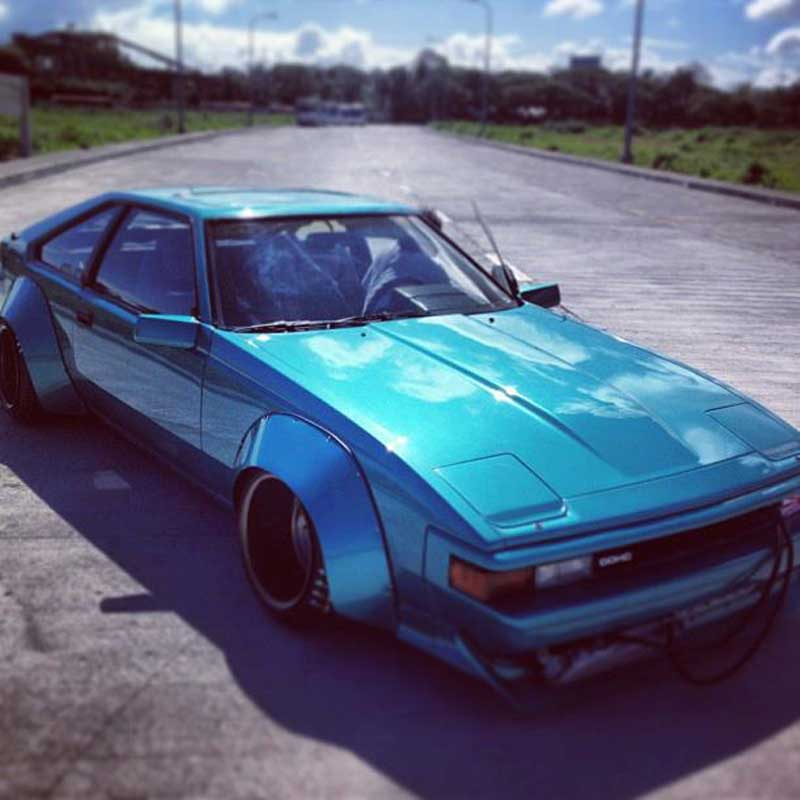 Toyota Celica Supra A60 Flared and Rebarreled