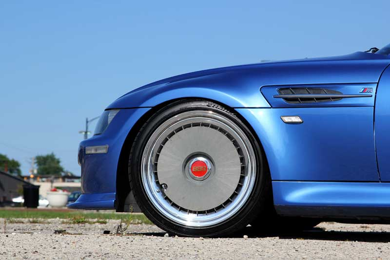 BBS RS Turbofans on E36/8 BMW M Coupe