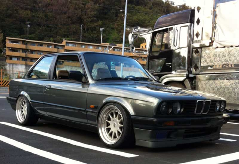 Hartge Design C on Slammed BMW E30 320i