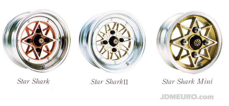 Colin Star Shark by SSR Wheels - JDM Wheels