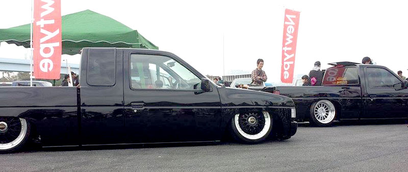 JDM Truck: BBS IMPUL on D21 Nissan Hardbody