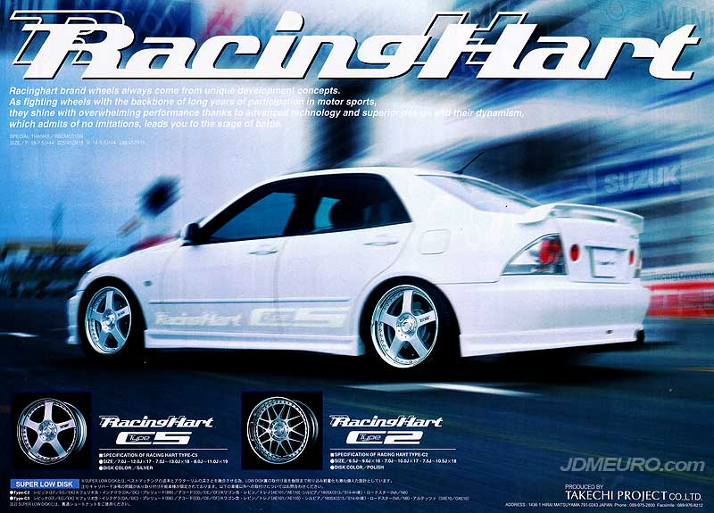 Racing Hart Type C2 Racing Hart Type C5 - JDM Wheels