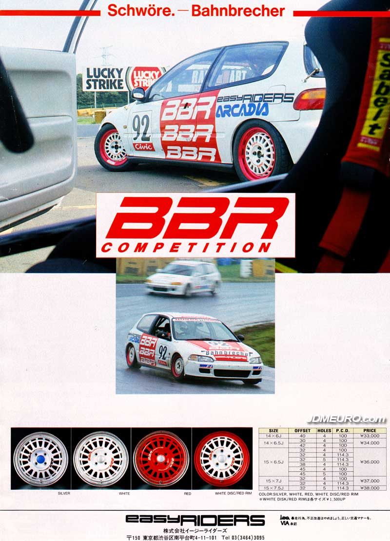 BBR Competition by Bahnbrecher Racing – JDM Wheels