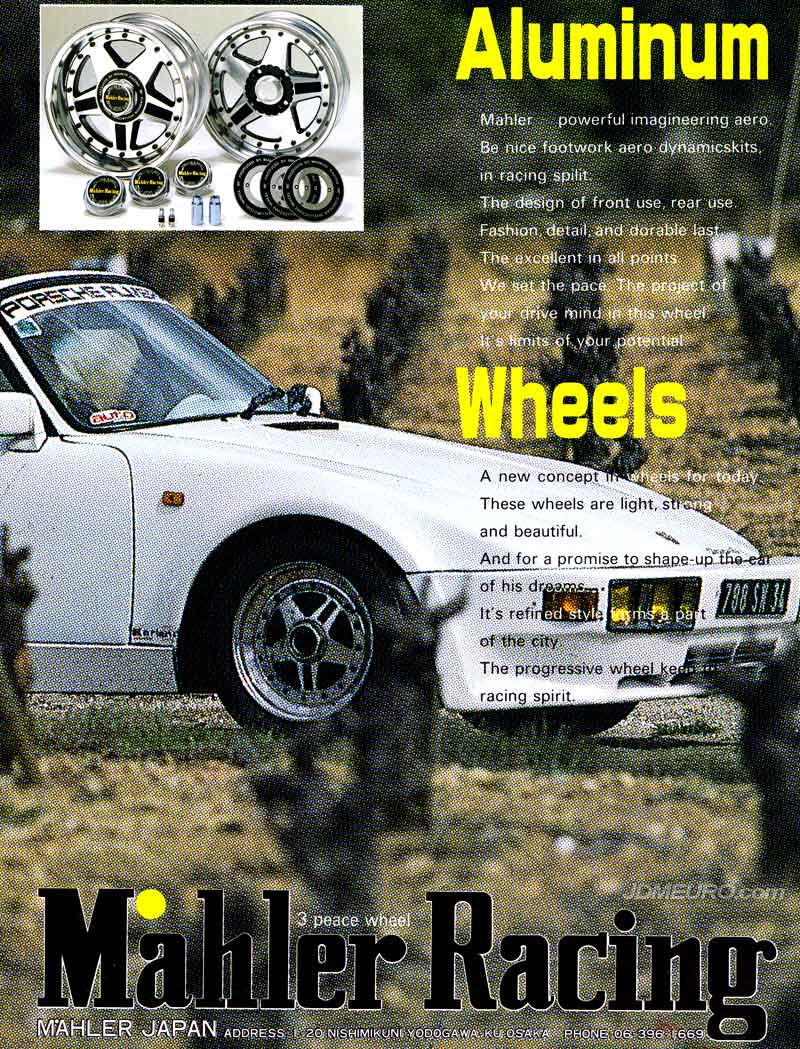 Mahler Racing 3 Piece Wheel - JDM Wheels