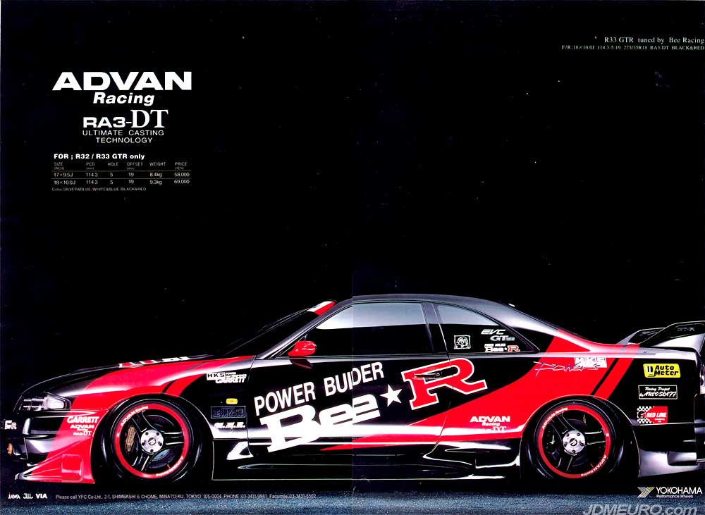 Yokohama ADVAN Racing RA3-DT by Enkie - JDM Wheels