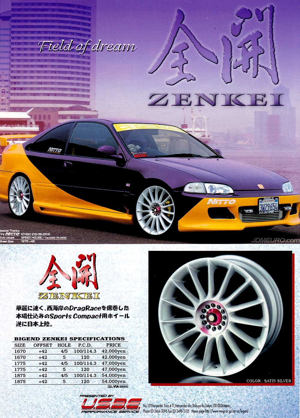 Enkei Zenkei by Big End - JDM Wheels