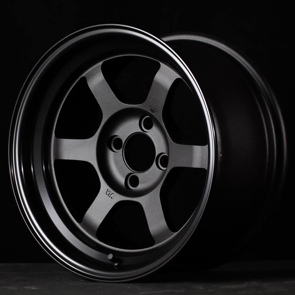 Volk Racing TE37V BA Black Anodized Limited Model by Rays Engineering - JDM Wheels