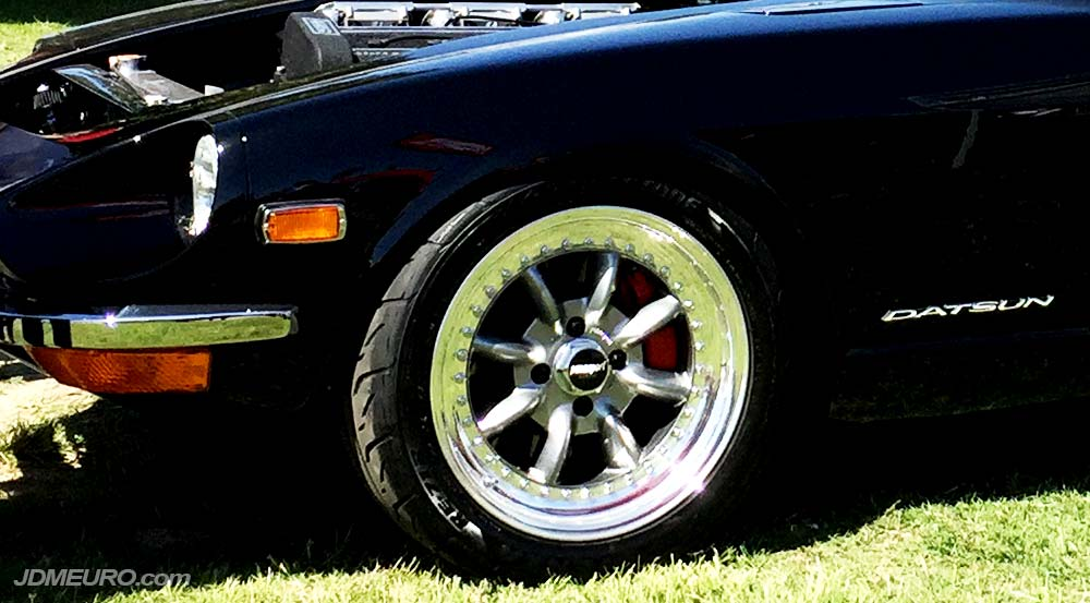 Panasport G7-C8S on OS Giken TC24-B1Z S30 Datsun 240z - JDM Wheels
