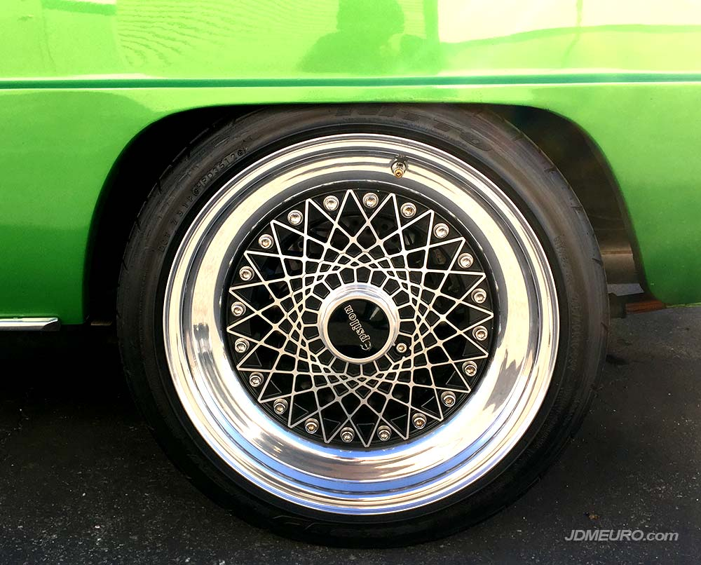 Epsilon Southern Ways Mesh on Mazda R100 Rotary - JDM Wheels