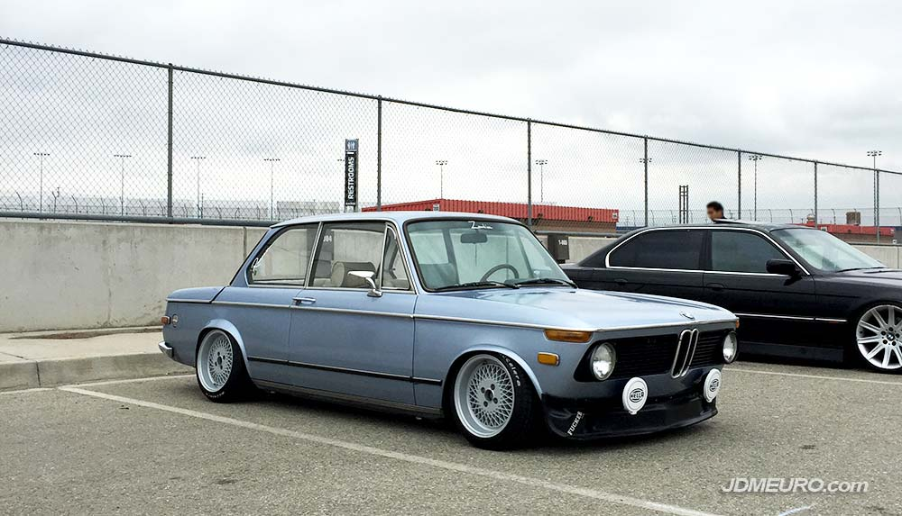 Enkei 92 Mesh Wheels on BMW 2002 E10 - JDM Wheels