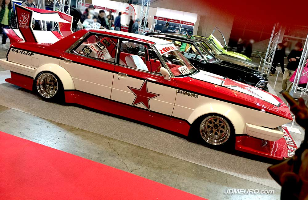 SSR MKIII JDM Wheels on Bosozoku Silhouette Toyota Cresta at Toyota Auto Salon 2018