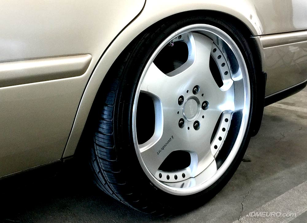 Lowenhart X/Position by Takechi Project on KA7 Acura Legend JDM Wheels @ Radwood 2018 at Petersen Automotive Museum in Los Angeles, California