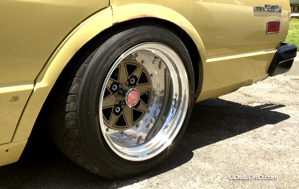 Uniroyal Spoke by Enkei on Toyota Cressida at Toyotafest 2018 – JDM Wheels