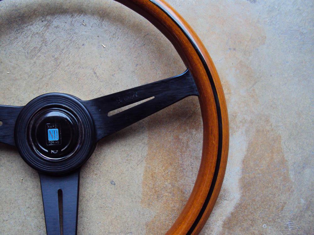 Nardi Classic Wood Steering Wheel Black Face 360mm Mercedes Benz Porsche VW JDM