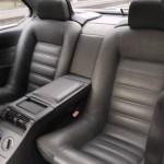 BMW M6 E24 Rear Seat